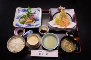 tenpura-sashimi-gozen